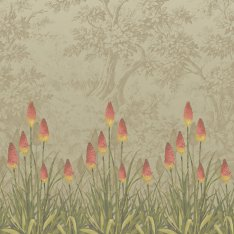 Панно Little Greene London Wallpapers 4 0251UBMIDIZ